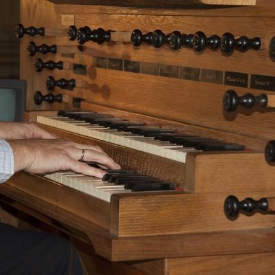 Orgelspel voor de dienst